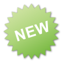 label new green png icon