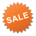 label sale red png icon