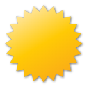 label yellow Png Icon