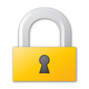lock yellow png icon