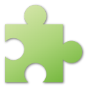 puzzle green png icon