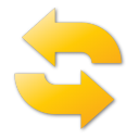 refresh yellow png icon