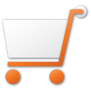 shopping cart red png icon