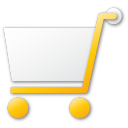 shopping cart yellow Png Icon