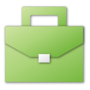 suitcase green png icon