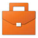 suitcase red png icon