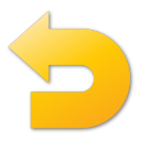 undo yellow png icon