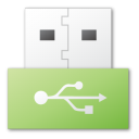 USB green png icon