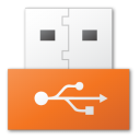 USB red png icon