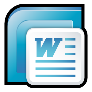 Microsoft Office 2007 Word large png icon