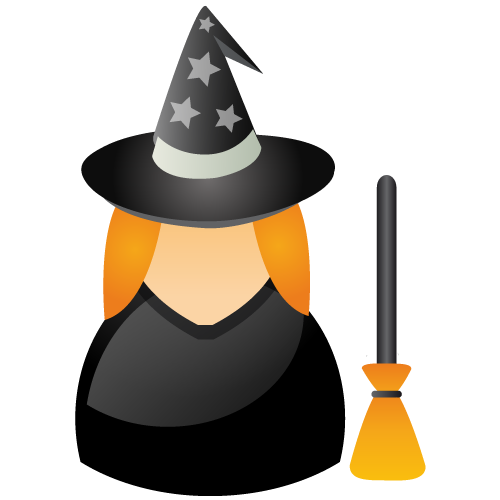 witch large png icon