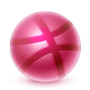 dribbble png icon