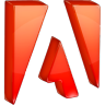 adobe large png icon
