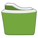 Yellow Green Folder png icon