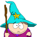 Cartman Gandalf zoomed Png Icon