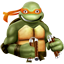 michelangelo large png icon