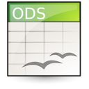 application vnd.oasis.opendocument.spreadsheet Png Icon