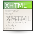 xhtml Png Icon