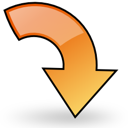 object rotate right Png Icon