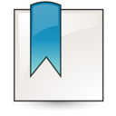 stock bookmark Png Icon