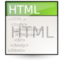 html large png icon