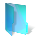 Blue Folder Png Icon