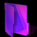 Pink folder Png Icon