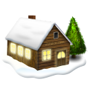 houseinsnow Png Icon