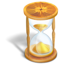 hourglass large png icon