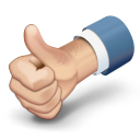 thumbs up large png icon