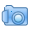 blue imagelink png icon