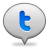 Bubble twitter 2 Png Icon