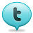 Bubble twitter Png Icon