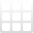 3x3 grid Png Icon