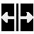 cursor V split Png Icon