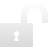 padlock open Png Icon