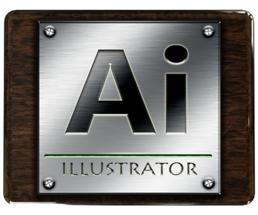 illustrator large png icon