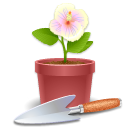 flowerpot Png Icon