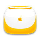 Tangerine iBook Png Icon