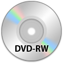 The DVD RW Png Icon