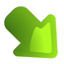 rightdown Png Icon
