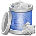 Recycle Bin Full 3 Png Icon