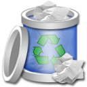 Recycle Bin Full 4 Png Icon