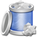Recycle Bin Full Png Icon