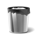recyclebinfull Png Icon