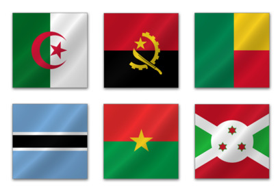 african-flags icons thumbnails