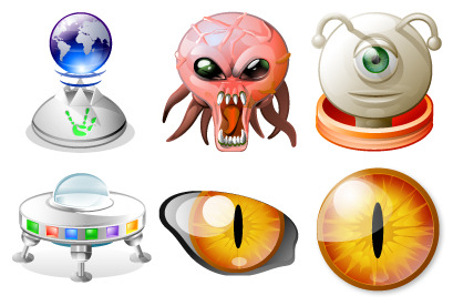 alien-mind icons thumbnails