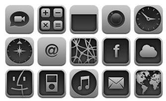 aluminum icons thumbnails