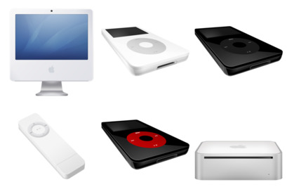 apple-products icons thumbnails