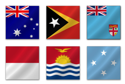 Australian Flags thumbnails